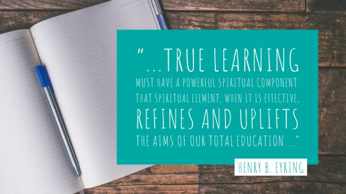 Quote about True Learning | staceysansom.com